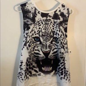 Never worn lion shirt!